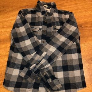 Men's abercrombie and fitch Large Flannel